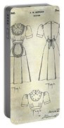 1940 Waitress Uniform Patent Portable Battery Charger