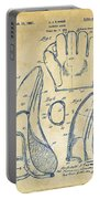 1941 Baseball Glove Patent - Vintage Portable Battery Charger by Nikki Marie Smith