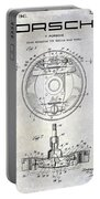 1941 Porsche Brake Mechanism Patent Portable Battery Charger