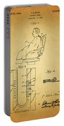 1943 Barber Apron Patent Portable Battery Charger
