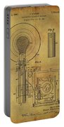1943 Camera Flash Patent Portable Battery Charger