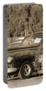 1946 Dodge In Sepia Portable Battery Charger