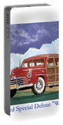 1946 Ford Woody Portable Battery Charger