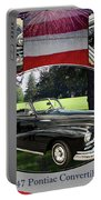 1947 Pontiac Convertible Photograph 5544.01 Portable Battery Charger
