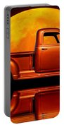 1950 Chevy Pickup Poster Portable Battery Charger