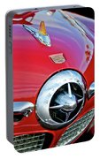 1950 Studebaker Champion Hood Ornament Portable Battery Charger