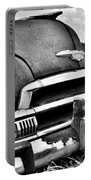 1951 Chevrolet Power Glide Black And White 3 Portable Battery Charger