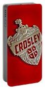 1951 Crosley Hood Emblem Portable Battery Charger
