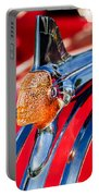 1951 Pontiac Chief Hood Ornament Portable Battery Charger