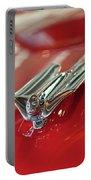1953 Cadillac Eldorado Convertible Hood Ornament Portable Battery Charger
