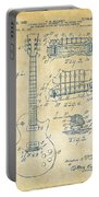 1955 Mccarty Gibson Les Paul Guitar Patent Artwork Vintage Portable Battery Charger