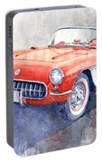 1956 Chevrolet Corvette C1 Portable Battery Charger