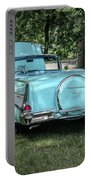 1957 Bel Air  Blue Convertible  Portable Battery Charger