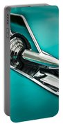 1957 Bel Air Hood Ornament Portable Battery Charger