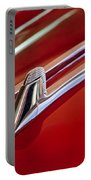1957 Cadillac Eldorado Biarritz Hood Ornament Portable Battery Charger