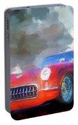 1957 Corvette Hot Rod Portable Battery Charger