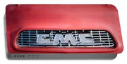 1957 Gmc Pickup Truck Grille Emblem -0329c1 Portable Battery Charger