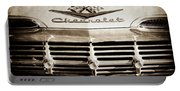 1959 Chevrolet Impala Grille Emblem -1014s Portable Battery Charger