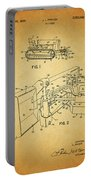 1960 Bulldozer Patent Portable Battery Charger