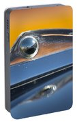 1961 Ford Starliner Hood Ornament Portable Battery Charger