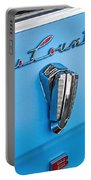 1961 Rambler Cross Country Emblem Portable Battery Charger