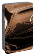 1963 Chevy Impala Ss Sepia Portable Battery Charger