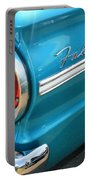 1963 Ford Falcon Tail Light And Logo Portable Battery Charger