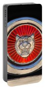 1963 Jaguar Xke Roadster Emblem Portable Battery Charger