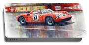 1964 Lemans 24 Ferrari 275p Ludovico Scarfiotti  Portable Battery Charger