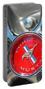 1965 Classic Ford Mustang Rim Color Portable Battery Charger