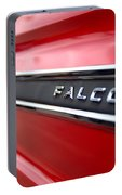 1965 Ford Falcon Name Plate Portable Battery Charger