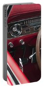 1965 Ford Mustang Fastback Dash Portable Battery Charger