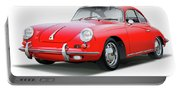 1965 Porshe 356 Sc Coupe Portable Battery Charger