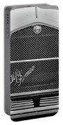 1966 Alfa Romeo Quattro Route 4r -0134bw Portable Battery Charger