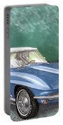 1966 Corvette Rag-top S.r. Portable Battery Charger