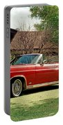 1966 Ford Fairlane 500 Convertible Portable Battery Charger
