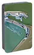 1966 Jaguar Hood Ornament Portable Battery Charger