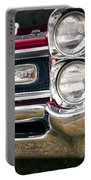 1966 Pontiac Gto Grill Portable Battery Charger