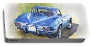 1967 Chevrolet Corvette C2 Stingray  Portable Battery Charger