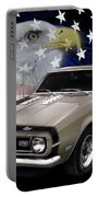 1968 Camaro Ss Tribute Portable Battery Charger