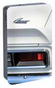 1968 Chevy - Chevrolet Camaro Tail Lights And Logo Portable Battery Charger
