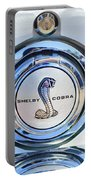 1968 Ford Mustang Fastback 427 Ci - Cobra Emblem Portable Battery Charger