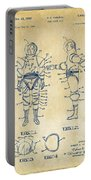 1968 Hard Space Suit Patent Artwork - Vintage Portable Battery Charger