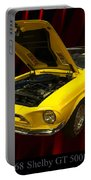 1968 Shelby Gt 500kr Portable Battery Charger