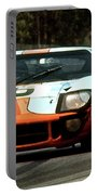1969 24 Hours Of Le Mans Ford Gt40 First Place, Mixed Media  Portable Battery Charger