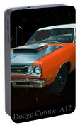 1969 And A Half Dodge Cornet A12 Superbee Portable Battery Charger