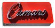 1969 Chevrolet Camaro Z-28 302 Emblem -0152c Portable Battery Charger