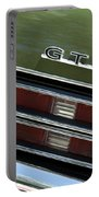1969 Pontiac Gto Taillight Emblem Portable Battery Charger