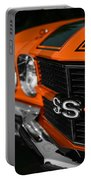 1970 Chevelle Ss396 Ss 396 Orange Portable Battery Charger