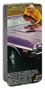 1970 Dodge Challenger Rt Convertible Portable Battery Charger